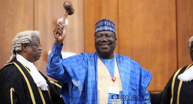 Ahmed Lawan sends Congratulatory message to Presiden Buhari
