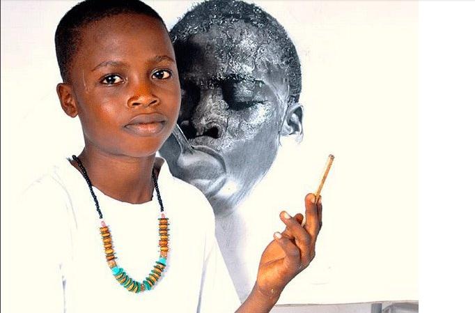 Nigerian Artist Kareem Waris beats 2,723 Competitors to Win Top Taiwanese Award.