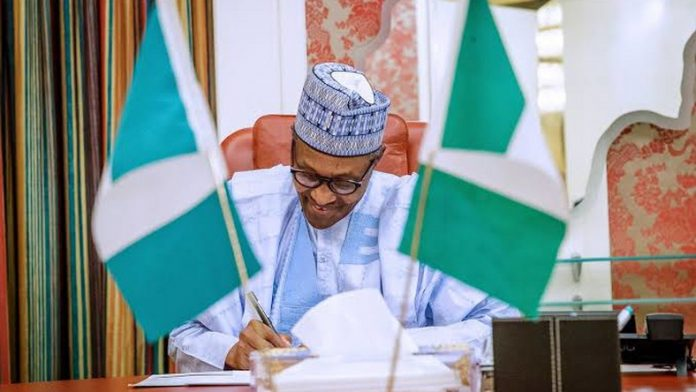 President Buhari reveals He didn't sack Osinbajo's aides
