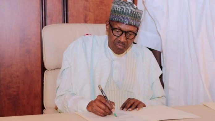 Another Executive Order into Law signed by President Buhari