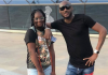 Tuface Idibia shares a photo with his Daughter Isabella as she turns 11