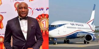 Air Peace to Commence Flights to Ibadan, gets Excellence Award