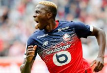 Victor Osimhen's future is uncertain at Lille OSC