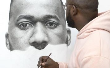 Sensational Progressive Drawing by Arinze Stanley (ARTWORK)