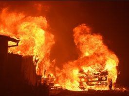 Shops razed as fire plunked Ganye Market in Adamawa State