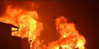 Shops razed as fire plunked Ganye Market in Adamawa State