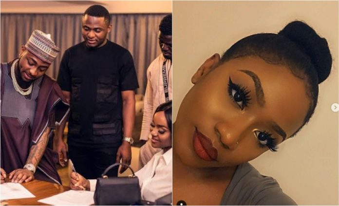 Davido tells Ubi Frankly to Stay Away from Chioma's Sister Jokingly