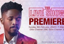 Johnny Drille Leads List of Performing Artiste in Ultimate Love 2020 Launch show.
