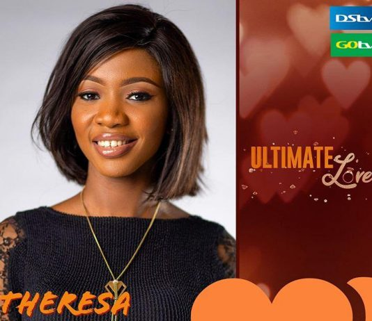Biography of Theresa Ultimate Love Guest 2020 (Pictures & Profile).