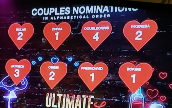 Housemates Nominated for Eviction in Ultimate Love Week 6 | Week 6 Eviction List