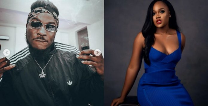 Cee-c is my friends, Peruzzi clears the air their relationship (Video)