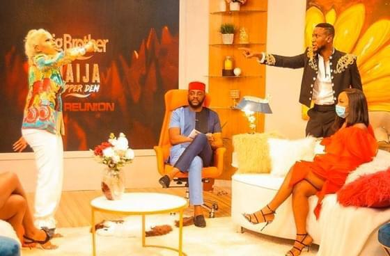 Mercy and Omashola got into FighT in Day 7 of Reunion 2020.