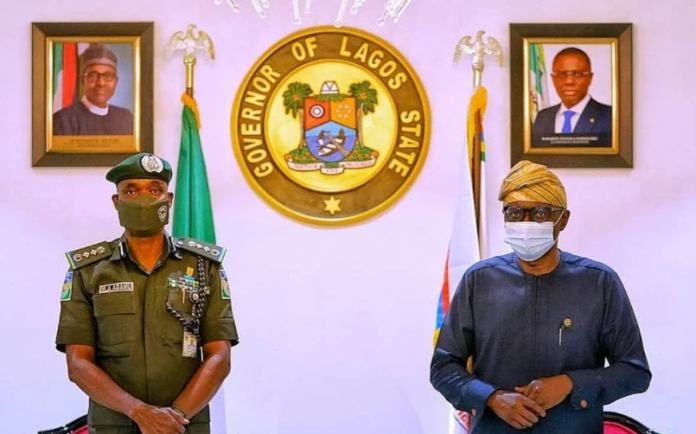 End SARS: Complete Details of Sanwo-Olu's meeting with IG of Police on Tuesday revealed