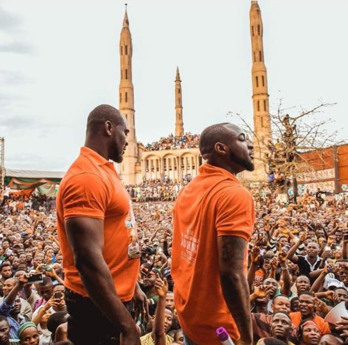 Davido cries as his bodyguard, TeeJay, dies at 36.