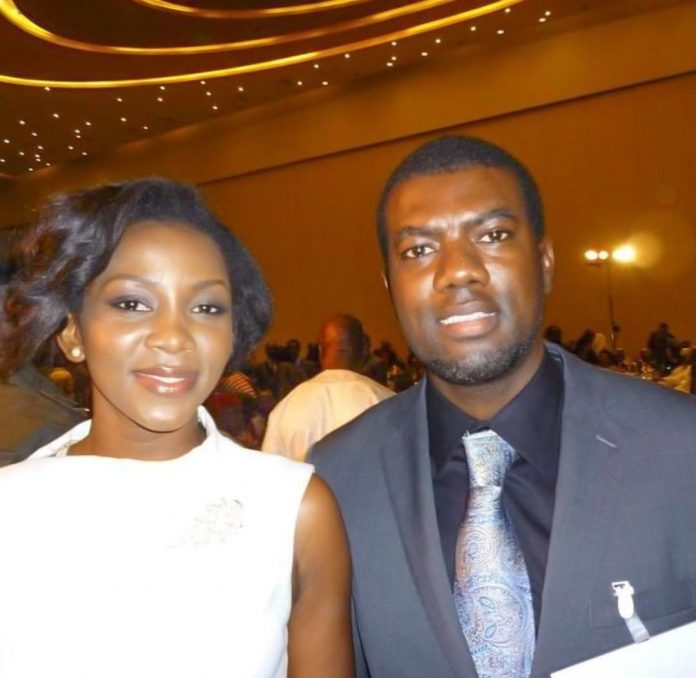 Reno Omokri responded to a man who asked him to open up that he's crushing on Genevieve Nnaji.