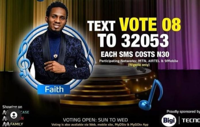 How to Vote for Faith in Nigerian Idol 2021 Season 6