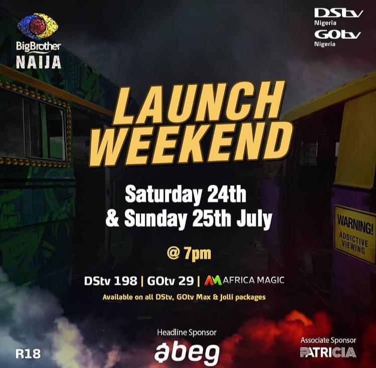 Today Big Brother Nigeria 2021 Launch Show Time, TV Channel, Streaming, Cast