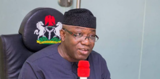 Government can't do it alone; help your communities – Fayemi to Ekiti people