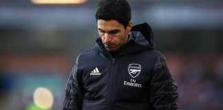 EPL: Arteta apologizes to fans after Arsenal's 2-0 defeat to Brentford in opening day